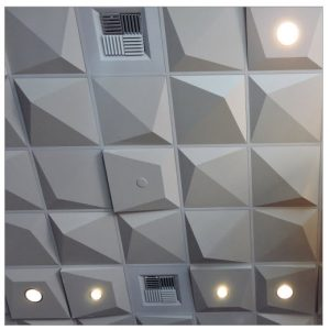 Above View Pyramid 2 Ceiling Tile