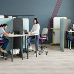 SteelCase product Flex Collection modular seating